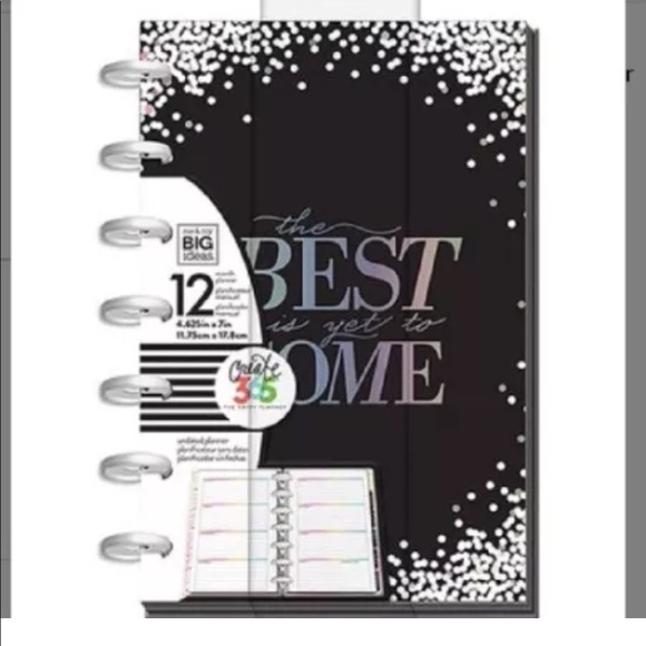 Happy Planner Mini Stay Positive, The Best undated NWT